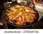 Traditional Paella Served At...