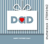 happy fathers day celebration...   Shutterstock .eps vector #270041462