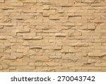 brick stone wall texture | Shutterstock . vector #270043742