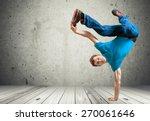 breakdancing  hip hop ... | Shutterstock . vector #270061646