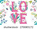 vector colorful amazing... | Shutterstock .eps vector #270085172