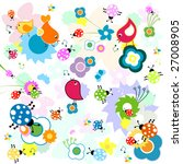 funny background  nature | Shutterstock .eps vector #27008905