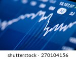 close up of a stock market...   Shutterstock . vector #270104156
