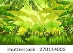 tropical landscape | Shutterstock .eps vector #270114002