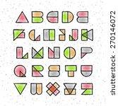 Vector Abstract Geometric Hand...