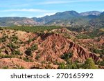 mountain landscape in morocco | Shutterstock . vector #270165992