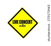 Live Concert Black Stamp Text...