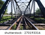 Old Rail Way Bridge Vintage