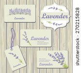 Lavender Cards And Labels On...