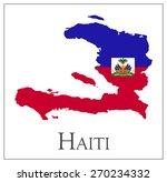 vector illustration of haiti... | Shutterstock .eps vector #270234332