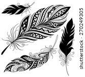vector peerless decorative... | Shutterstock .eps vector #270249305