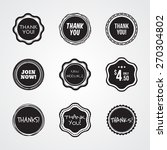 general badges and label in... | Shutterstock .eps vector #270304802