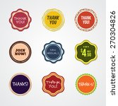 general badges and label.... | Shutterstock .eps vector #270304826