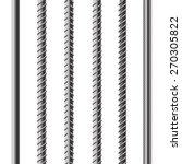 vector rebars  metal... | Shutterstock .eps vector #270305822