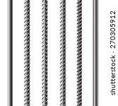 rebars  reinforcement steel... | Shutterstock . vector #270305912