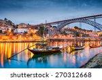 porto  portugal old town... | Shutterstock . vector #270312668