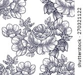 vintage flowers. abstract... | Shutterstock .eps vector #270321122
