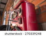 Old Oil Gasoline Dispenser