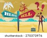 great illustration of retro... | Shutterstock .eps vector #270373976