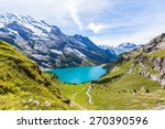the panorama in summer view...   Shutterstock . vector #270390596
