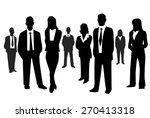 business people    Shutterstock .eps vector #270413318