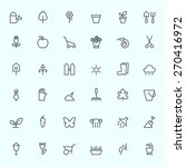 Gardening Icons  Simple And...