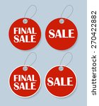 sale banner with place for your ... | Shutterstock .eps vector #270422882