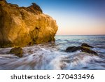 rocks and waves in the pacific... | Shutterstock . vector #270433496