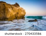 rocks and waves in the pacific... | Shutterstock . vector #270433586