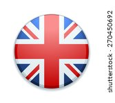 uk of great britain button | Shutterstock .eps vector #270450692