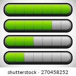 horizontal progress  loading...