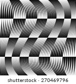 Black And White Pattern With...