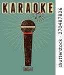 typographic retro grunge... | Shutterstock .eps vector #270487826