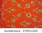 turkish carpet with traditional ... | Shutterstock . vector #270511202
