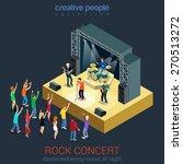 rock music band pop... | Shutterstock .eps vector #270513272
