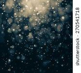 glittering stars on bokeh... | Shutterstock . vector #270541718