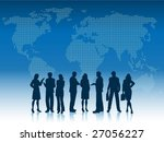 business people of the world | Shutterstock .eps vector #27056227