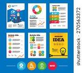 brochure or flyers design. quiz ... | Shutterstock .eps vector #270563372