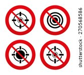 no  ban or stop signs.... | Shutterstock .eps vector #270568586