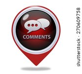 comments now pointer icon on... | Shutterstock . vector #270609758