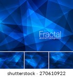 fractal abstract background | Shutterstock .eps vector #270610922