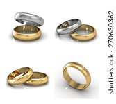 set of rings. best wedding and... | Shutterstock . vector #270630362