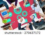 team functionality industry... | Shutterstock . vector #270637172