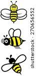 bees. | Shutterstock .eps vector #270656552