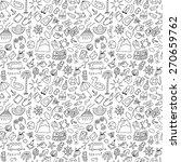 travel hand drawn cartoon... | Shutterstock .eps vector #270659762