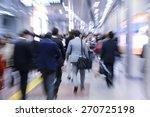 businesspeople walking in...   Shutterstock . vector #270725198