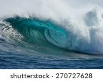 A Beautiful Blue Wave Crashes...
