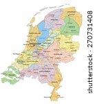 netherlands   highly detailed... | Shutterstock .eps vector #270731408
