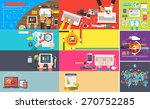 creative team. young design... | Shutterstock . vector #270752285