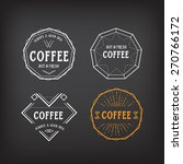 coffee menu logo template... | Shutterstock .eps vector #270766172